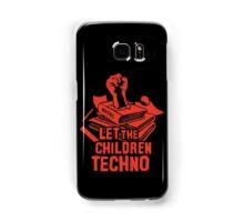 LET THE CHILDREN TECHNO Samsung Galaxy Case/Skin