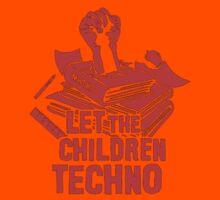 LET THE CHILDREN TECHNO Kids Tee