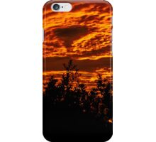 Flaming Sky iPhone Case/Skin