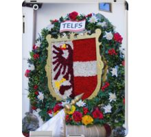 Coat of arms of Austrian town Telfs iPad Case/Skin