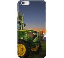john deere sunset iPhone Case/Skin