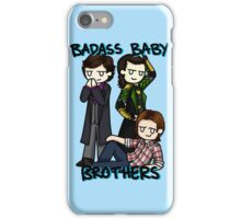 Badass Baby Brothers iPhone Case/Skin