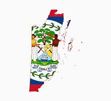 Belize Flag Map  Unisex T-Shirt