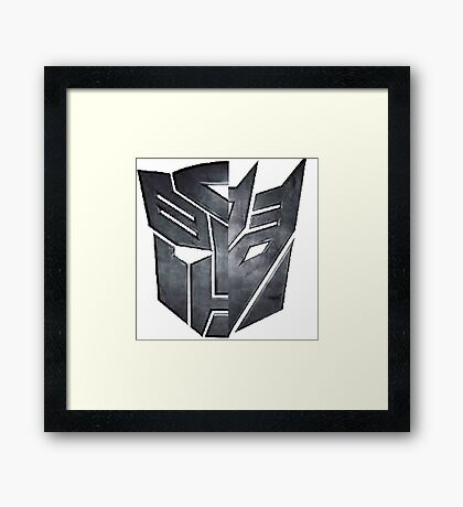 transformers Framed Print