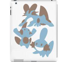Pokemon Evolution Of Mudkip iPad Case/Skin