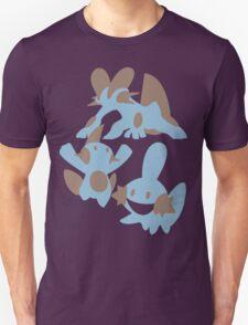 Pokemon Evolution Of Mudkip T-Shirt