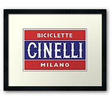 CINELLI Framed Print