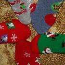 Christmas socks by natnvinmom