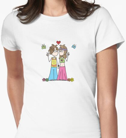 Hippie Lovers T T-Shirt