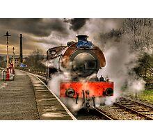 Steam Locomotive, East Lancs Railway Photographic Print