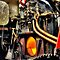 Steam Loco Detail at Embsay Railway by Steve  Liptrot