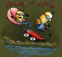 Stuart and Kevin by kellabell9