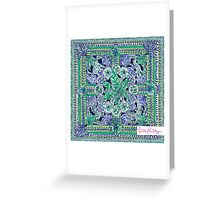 Lilly Pulitzer Pattern Greeting Card