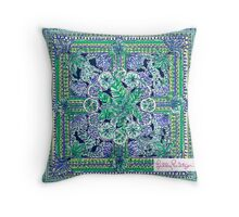 Lilly Pulitzer Pattern Throw Pillow
