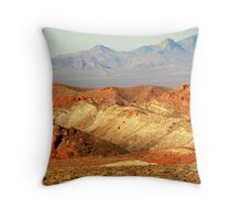 Valley of Fire (1) Throw Pillow