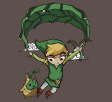 Legend Of Zelda - Flying Away One Piece - Short Sleeve