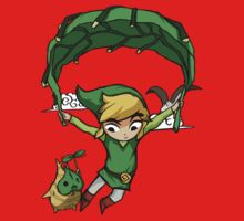 Legend Of Zelda - Flying Away Baby Tee