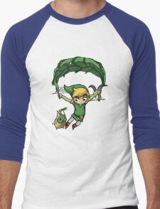 Legend Of Zelda - Flying Away Men's Baseball ¾ T-Shirt