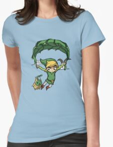 Legend Of Zelda - Flying Away Womens Fitted T-Shirt