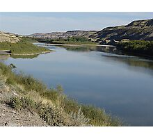 Red Deer River Valley Photographic Print