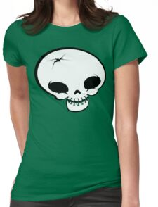 Mr Happy Bones Womens Fitted T-Shirt