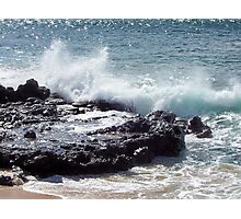 Another Splash in Molokai Photographic Print