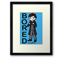 Bored Framed Print