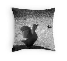 Goose Flap Throw Pillow