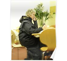Lunch on the Phone Poster