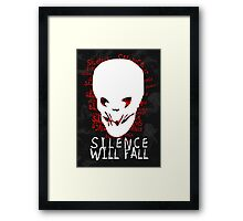 Silence Will Fall Framed Print