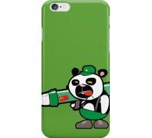 Panda Commando II iPhone Case/Skin