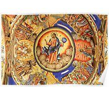 A Rila Monastery Fresco, Bulgaria Poster