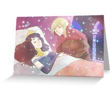Femlock - Sleeping beauty Greeting Card