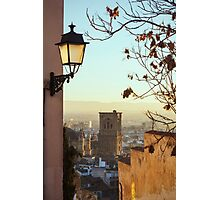 Sunset in Granada Photographic Print