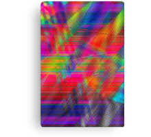 Abstract Glitch Canvas Print