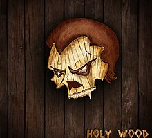 Holy Wood - Skull by vys11 by vys11