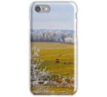 The Harvest Is In,  Brannon Mt. NW Arkansas, USA  iPhone Case/Skin
