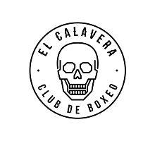 El Calavera - Club de Boxeo Photographic Print