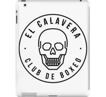 El Calavera - Club de Boxeo iPad Case/Skin