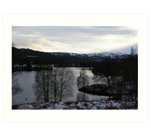 Glen Affric, Highlands, Scotland Art Print