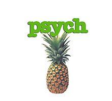 Psych Photographic Print