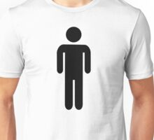 Man icon Unisex T-Shirt