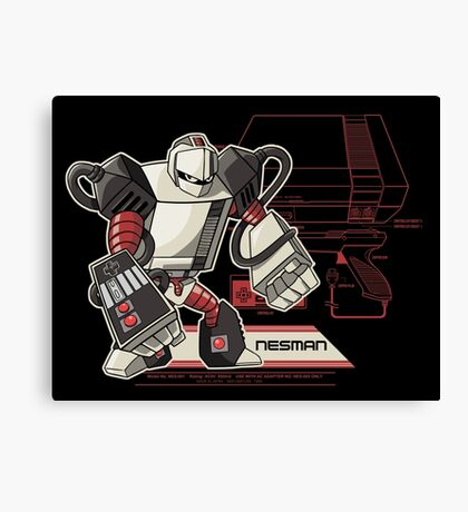 NES Man Canvas Print