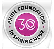 Pride Foundation 30th Anniversary Poster