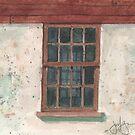 Cottage Window by JGFineArt