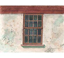 Cottage Window Photographic Print
