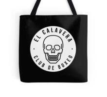 El Calavera Club de Boxeo - Sticker Tote Bag