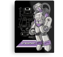 SNES Man Metal Print