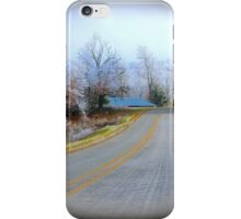 Rural Road,  Brannon Mt. NW Arkansas, USA iPhone Case/Skin