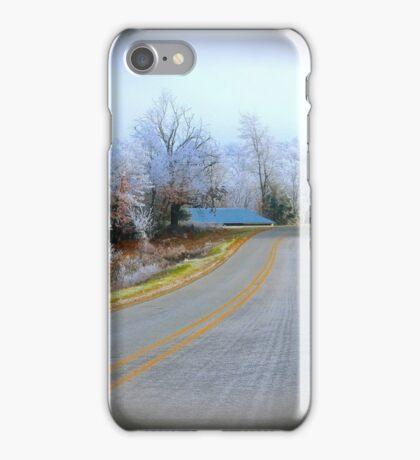 Rural Road,  Brannon Mt. NW Arkansas, USA iPhone Case/Skin